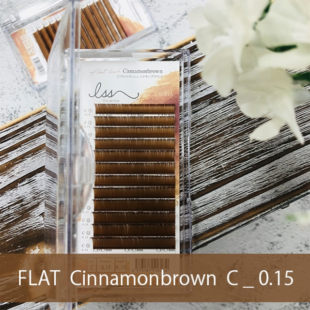 FLAT MAT シナモンブラウン     C_0.15mm
