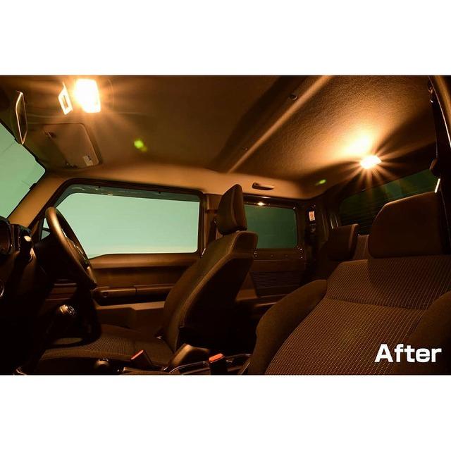 IPF 暖色系LEDルームランプバルブ(プレートルームランプ ウォームホワイト303R)