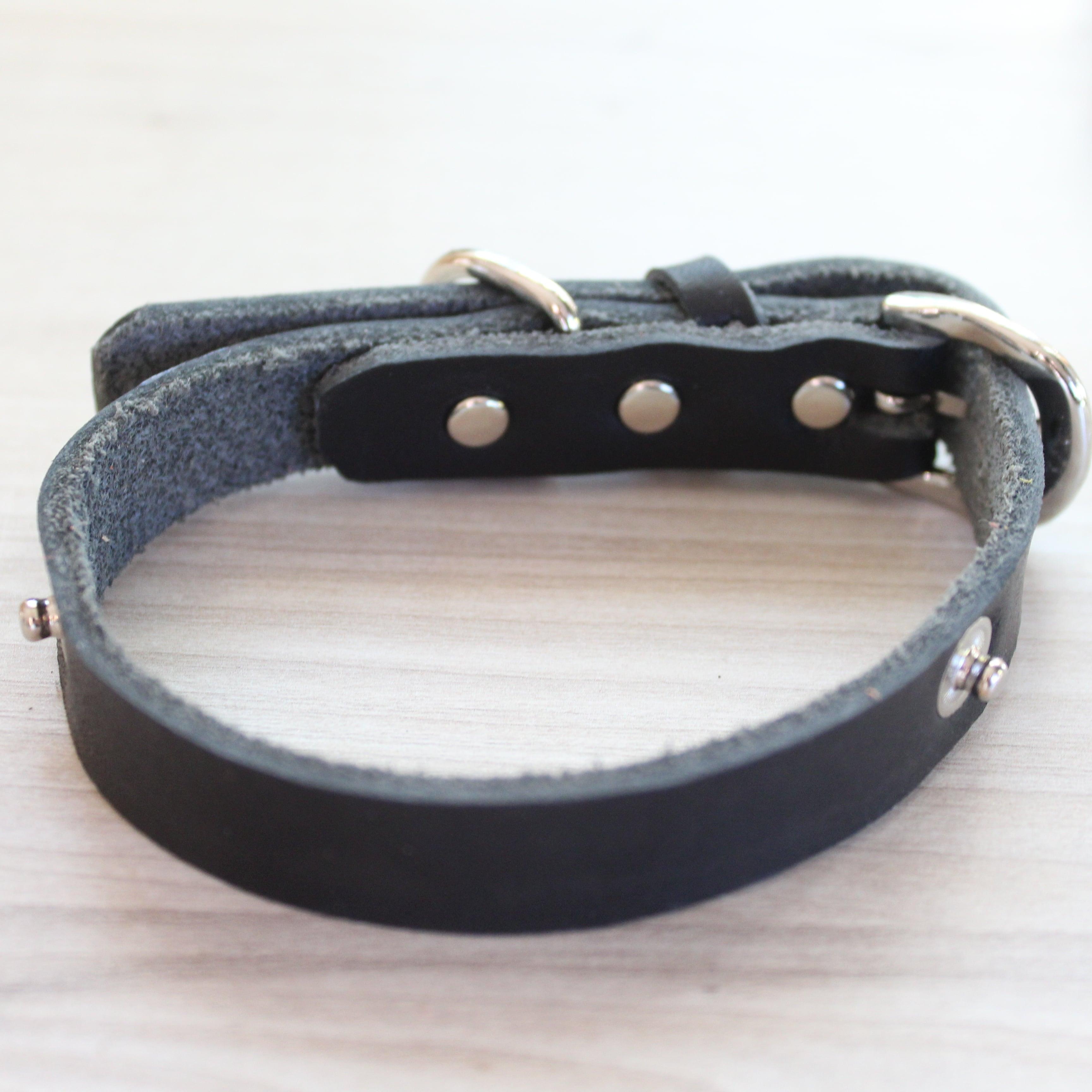 """WanDelen"" Dog Necklace (本体 black)"