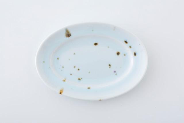 リム楕円皿:04 / 人見 和樹