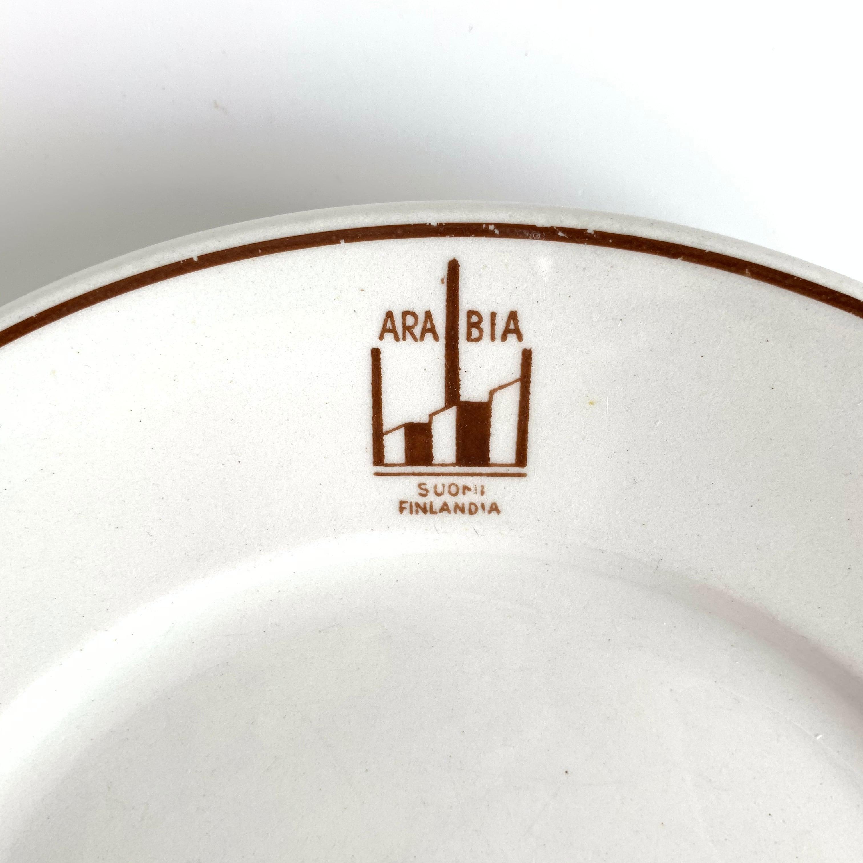ARABIA / Dinner Plate[B]