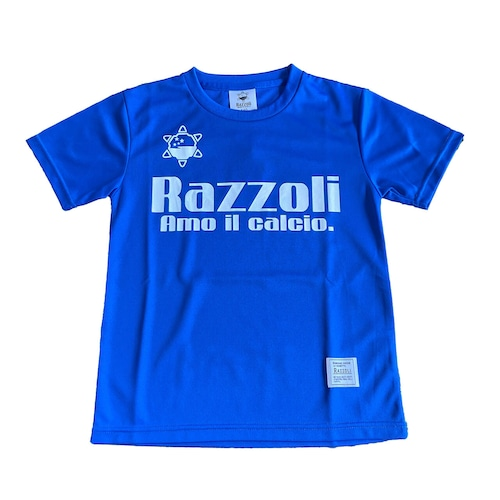 Razzoli ジュニア プラシャツ BLUE(RZZKS01)