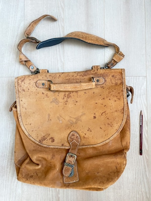 used leather bag No.015「純愛カタルシス」