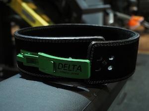 DELTA FITNESS オリジナル レザーリフティングベルト