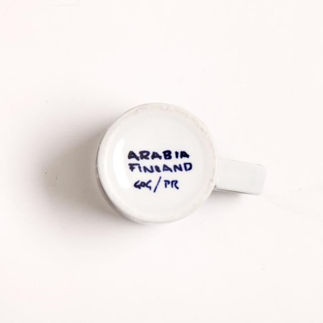 ARABIA アラビア Haarikka ハーリッカ デミタスコーヒーカップ - 10  北欧ヴィンテージ