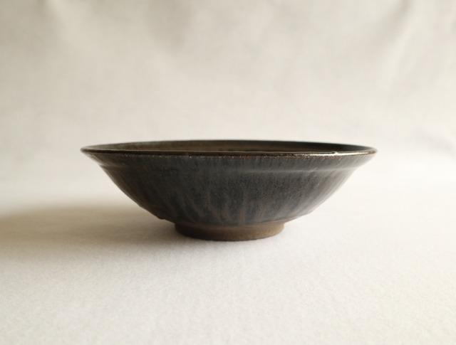 ■伊藤叔潔  : 鉄釉鉢 D