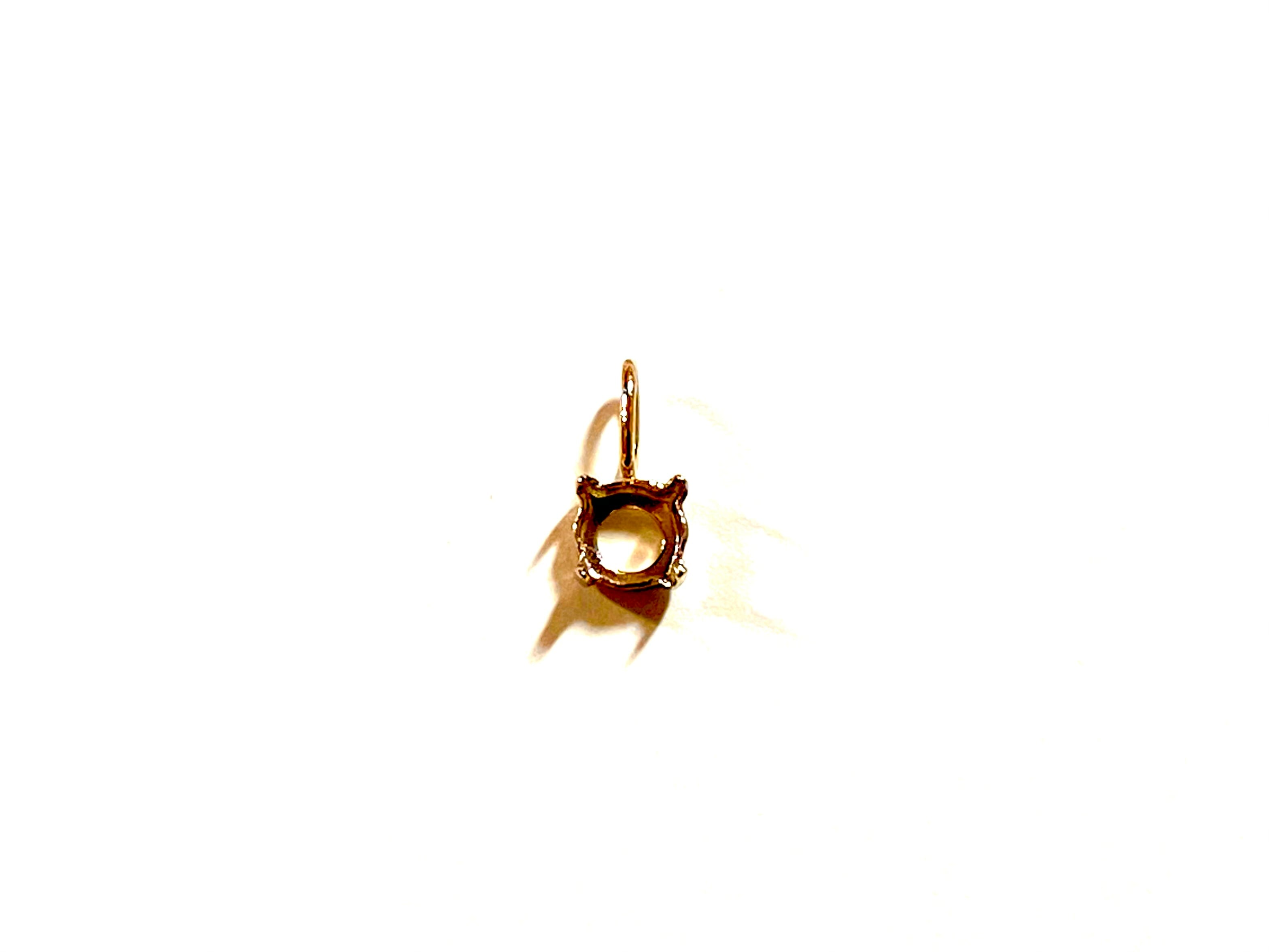 【K10YG】『タテヨコ5mm 』ラウンド対応空枠 [空枠No,14]