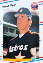 MLBカード 88FLEER Nolan Ryan #455 ASTROS