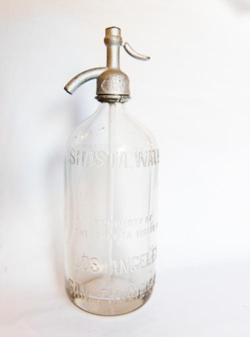 アメリカアンティークのソーダボトル (No.30308)