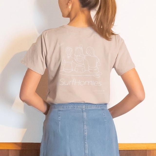 【ハレイワ / HALEIWA HAPPY MARKET】ハレイワTシャツ ビーチガール ハワイアン サーフ好きにも