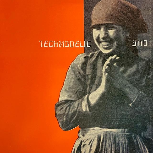 【LP・蘭盤】Yellow Magic Orchestra / Technodelic