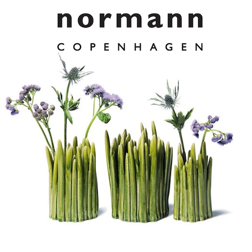 normann COPENHAGEN(ノーマン・コペンハーゲン)Grass Vase グラスベース【 M 】