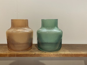 line glass vase/low