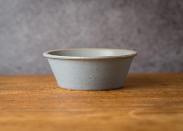 SHIROUMA 鉢 15cm 灰色(深皿・煮物鉢・スープボウル)/長谷川 哲也
