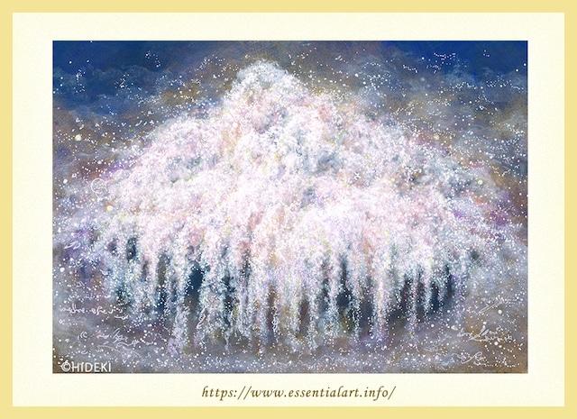 ☆定額制☆ 枝垂桜の絵画 春の宴