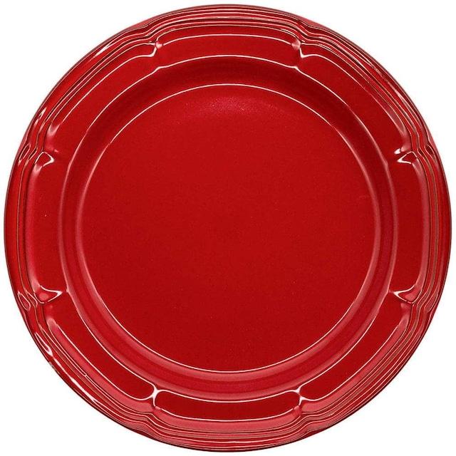 Koyo ラフィネ リムプレート 皿 約29cm ヴィンテージレッド 15944102