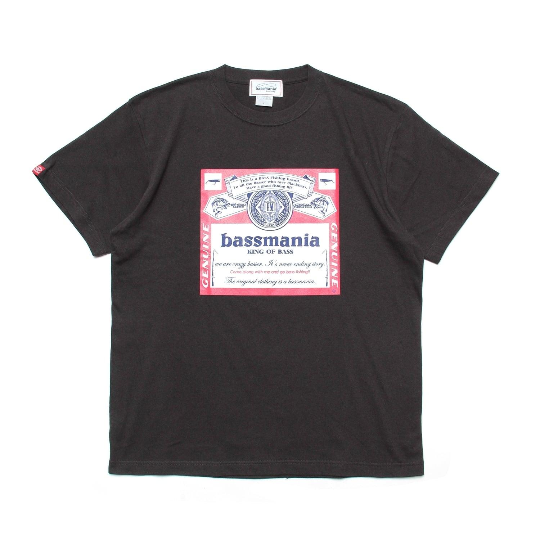 bassweiser Tシャツ[S.BLK]