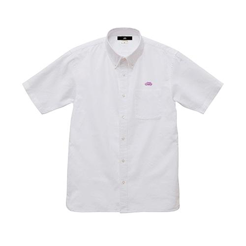 オックスフォード半袖シャツ / ホワイト   SINE METU