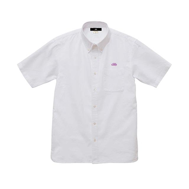 オックスフォード半袖シャツ / ホワイト | SINE METU