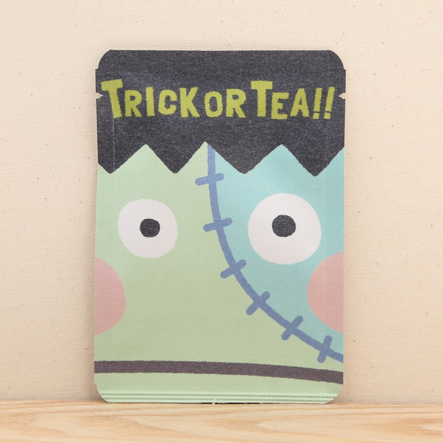 trick or tea(フランケン)|ハロウィン|ごあいさつ茶