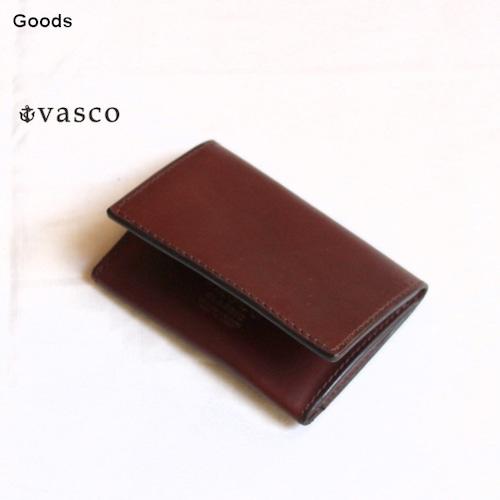 vasco  オイルドレザーカードケース LEATHER CARD CASE VSC-731 (ブラウン)