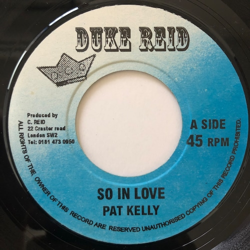Pat Kelly - So In Love【7-20661】