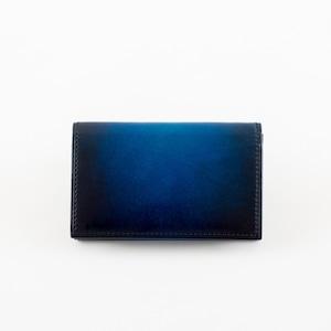 青い名刺入れ-YVP161