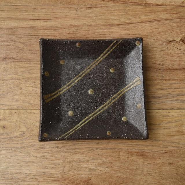 陶眞窯 角皿