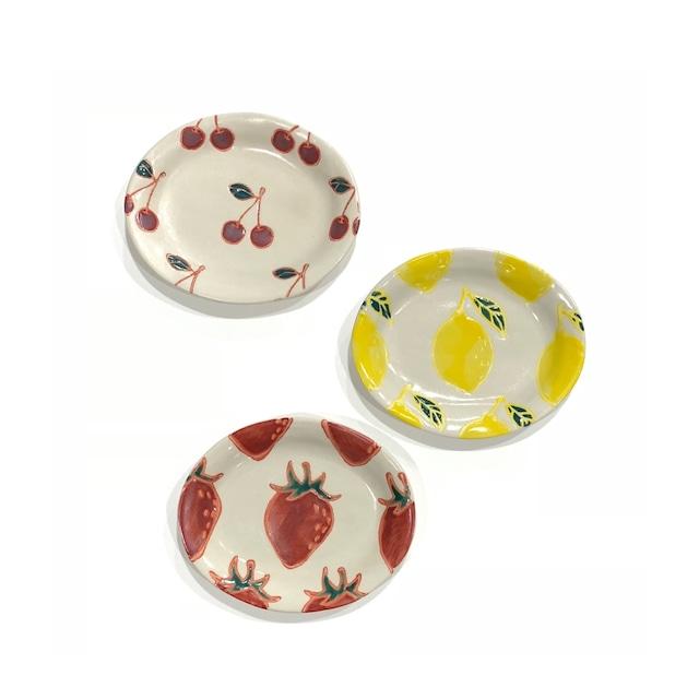 fruits  楕円小皿