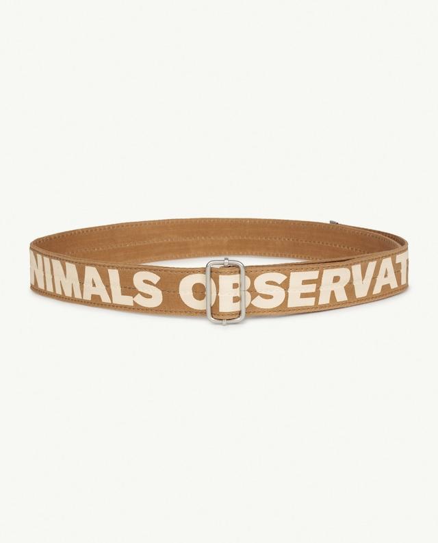 【21AW】the animals observatory(TAO)LIZARD KIDS BELT ガチャ ベルト
