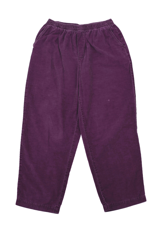 90's Purple corduroy easy pants