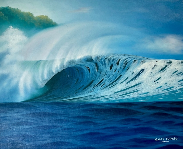Dreamland Wave Art F15