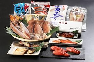 ご自宅で美味しご飯のお供!鶴雅特選 海鮮セット