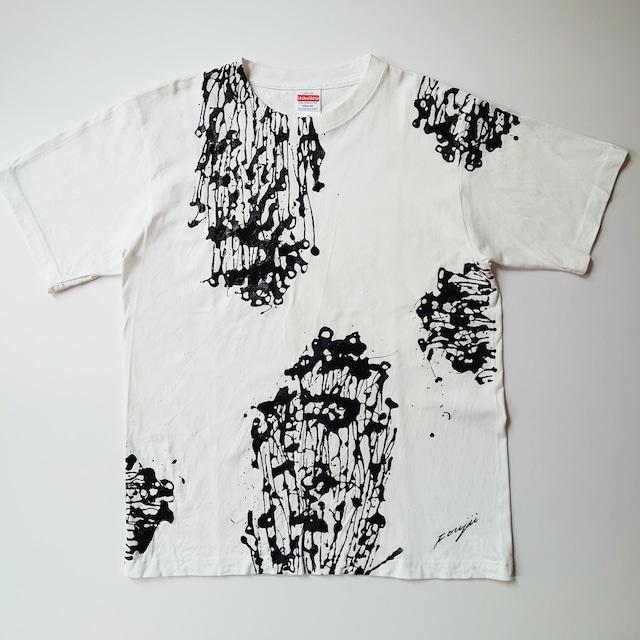 F's line【 藤井清秀  Tシャツアート】えのき M