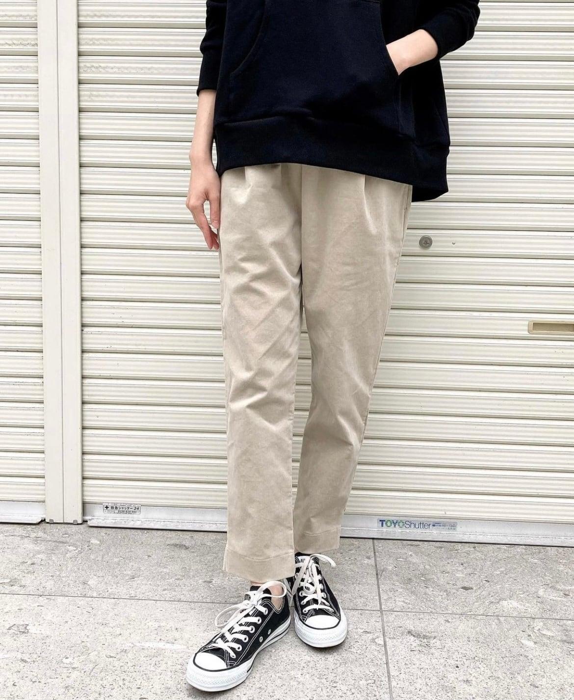 《ご予約品》10月中旬納期【 siro de labonte 】- R153301 - STRETCH CORDUROY PANTS ¥15400