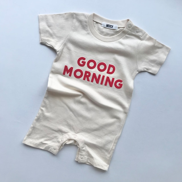 GOOD MORNING Rompers 80