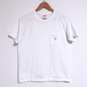 [ t-shirt ] pocket logo