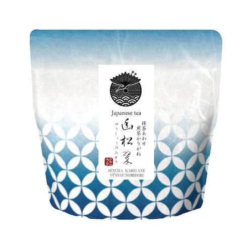 【いろどり】抹茶あわせ煎茶かりがね 幽松翠(ゆうしょうのみどり)リーフ(茶葉)