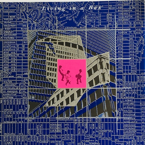【12inch・英盤】 Living In A Box / Living In A Box  (Version)