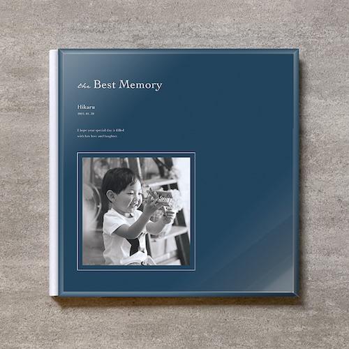 Navy blue-KIDS_A4スクエア_6ページ/6カット_クラシックアルバム(アクリルカバー)