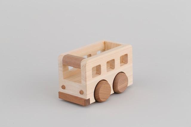 オルゴールバス MUSIC BUS ♫となりのトトロ | 木のおもちゃ 出産祝い 車のおもちゃ