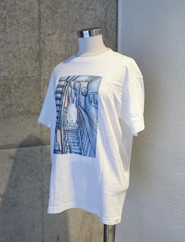 usagi Tシャツ「君が見た朝」