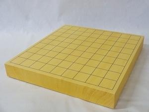 将棋盤 国産本榧 1.5寸 接合卓上盤 特上