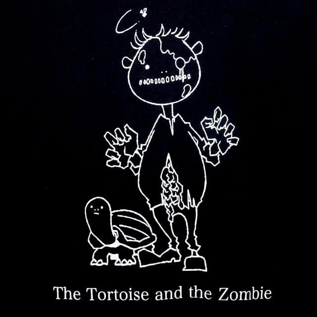 ゾンビとカメ Tシャツ