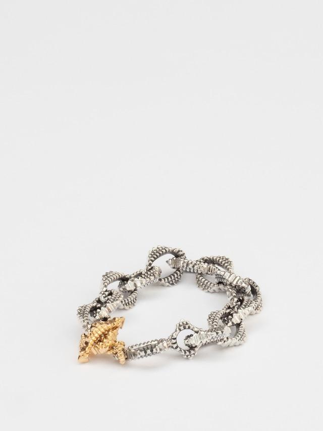 """Oval Chain"" Bracelet / Natural Instinct for Fabulous Sounds"