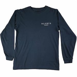 Blobys Paris Long Sleeve T Shirt L NAVY