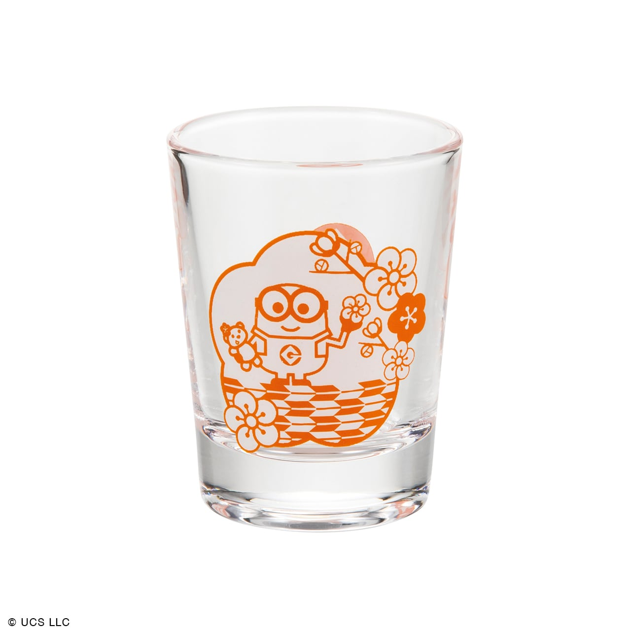ミニグラス/ミニオン(桜)