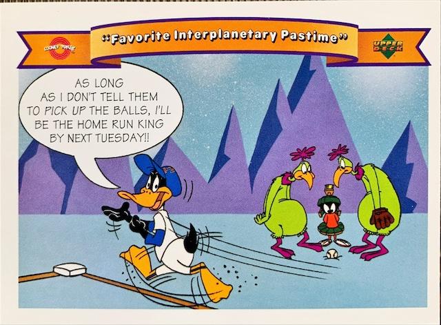 MLBカード 92UPPERDECK Looney Tunes #18