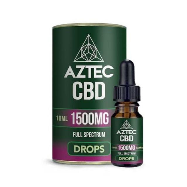 AZTEC フルスペクトラム CBDオイル 15%