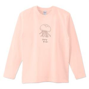 シンプル海月 / 5.6オンスロングTシャツ (Printstar)